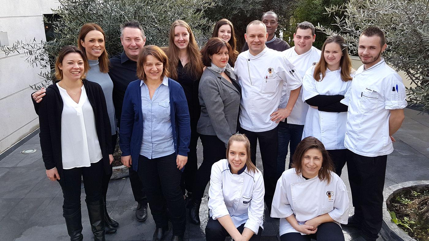 Cyrille Billot, Equipe du restaurant gastronomique saint maur