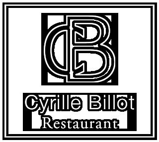 Logo Cyrille Billot, Restaurant Gastronomique