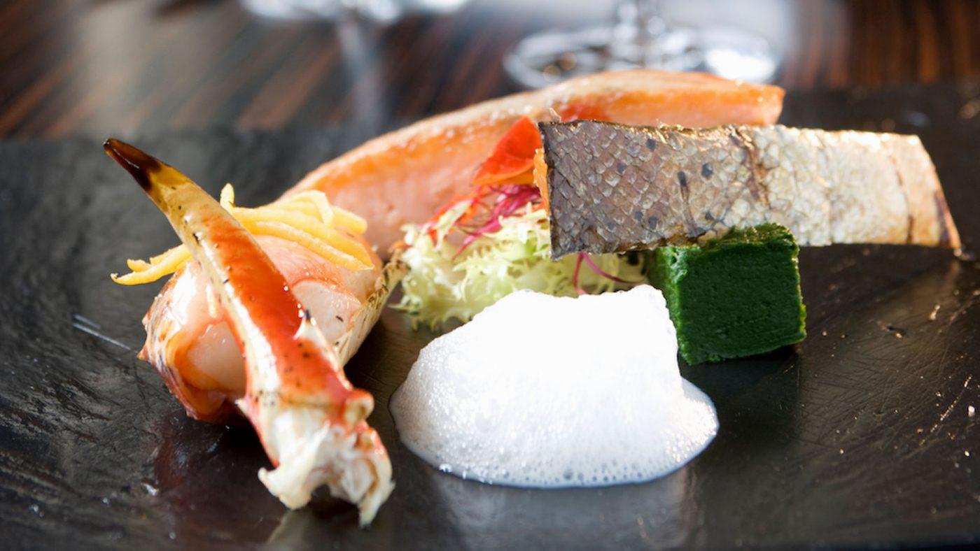 Cyrille Billot Restaurant, Mets Plat poisson crustacé